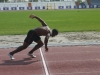 Michael Frater Training early morning - Italy 2011